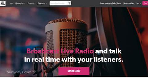 Como cancelar conta do BlogTalkRadio, excluir conta