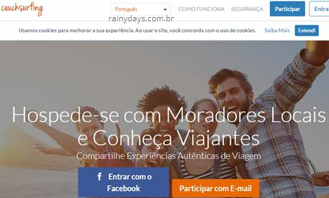 Como cancelar conta no CouchSurfing, excluir conta