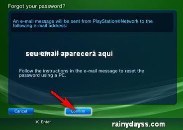 Como Trocar Senha da PSN no PS3 6