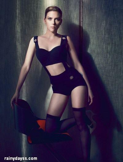 Scarlett Johansson Capa da Revista Interview