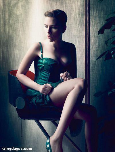 Scarlett Johansson na Capa da Revista Interview