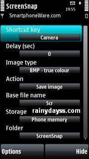 ScreenSnap para Symbian S60 5th ed