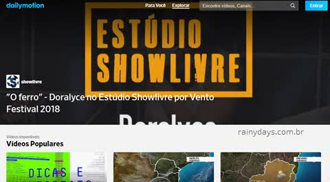 Como cancelar conta do Dailymotion, excluir conta