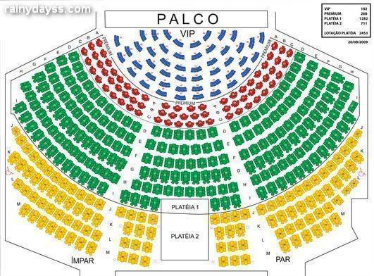 mapa assentos Via Funchal