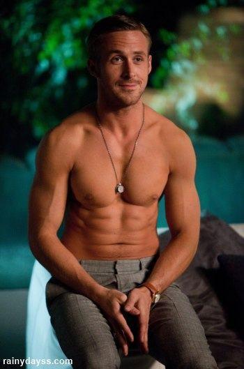 Ryan Gosling Sem Camisa