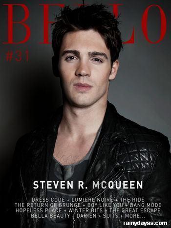 Steven McQueen Vampire Diaries Revista Bello