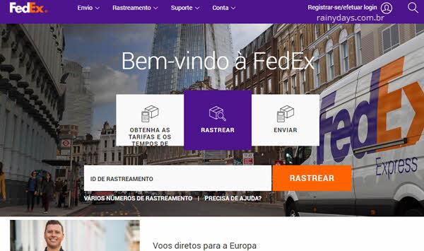 Como cancelar conta da FedEx permanente