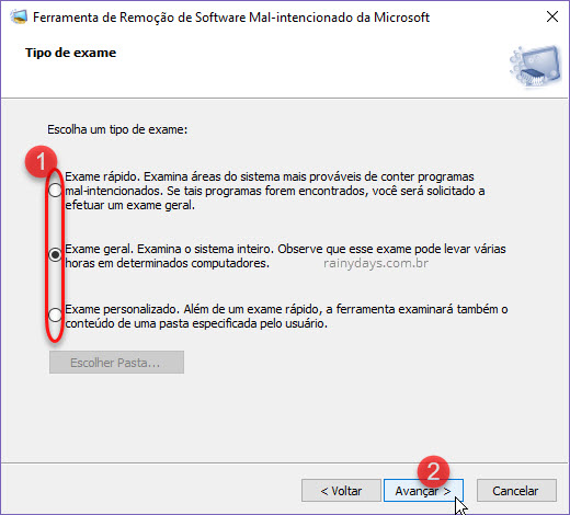 Remover malware do PC com ferramentas Microsoft