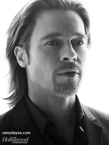 Brad Pitt Hollywood Reporter