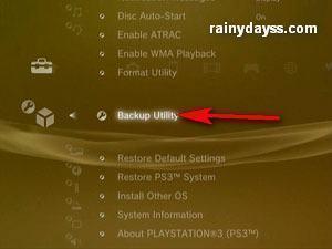 Como Fazer Backup dos Jogos e Dados do Playstation 3 b