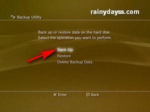 Como Fazer Backup dos Jogos e Dados do Playstation 3 c