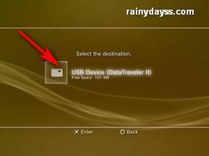 Como Fazer Backup dos Jogos e Dados do Playstation 3 g