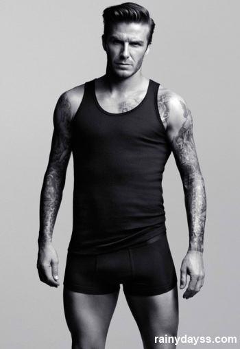 David Beckham de Cuecas H&M 2
