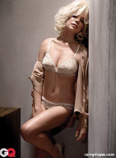 Michelle Williams Sexy de Marilyn Monroe na GQ
