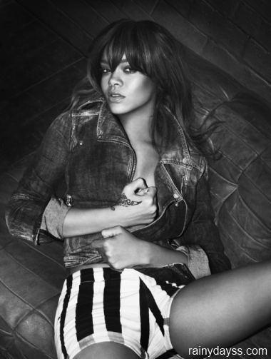 Rihanna Emporio Armani Jeans 2012