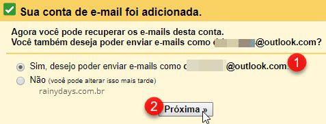 Deseja enviar email como outro endereço no Gmail