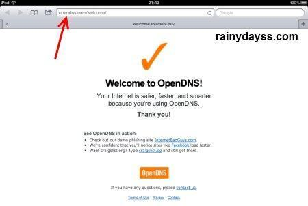 como ativar OpenDNS no iPhone e iPad