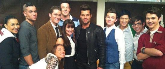 Ricky Martin em Glee