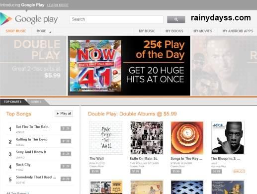 Cancelar Conta do Google Play Music