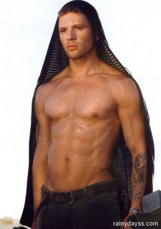 Ryan Phillippe ator gostoso sem camisa