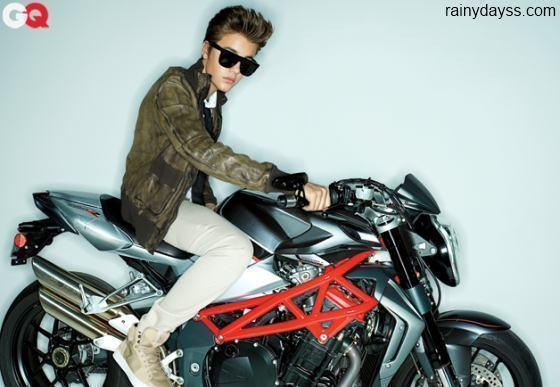 Justin Bieber na GQ