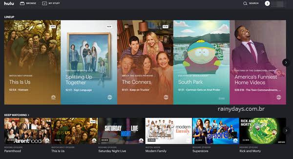 Como cancelar conta do Hulu