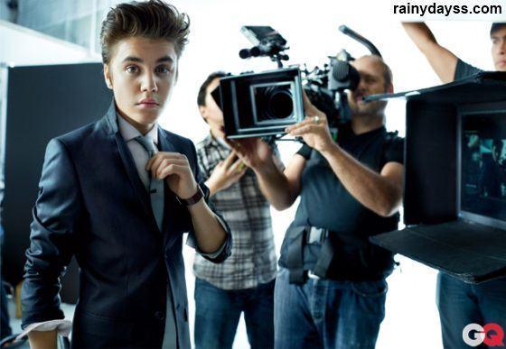 Justin Bieber na revista GQ