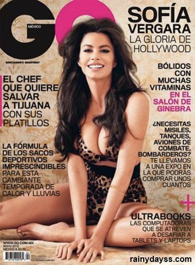 Sofia Vergara Sexy GQ Mexico 1