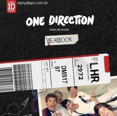 Capa de Take Me Home do One Direction