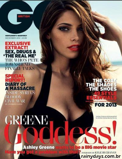 Ashley Greene Sexy na GQ Inglesa 1