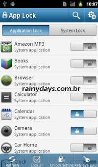 Bloquear Apps do Android Individualmente com Senha