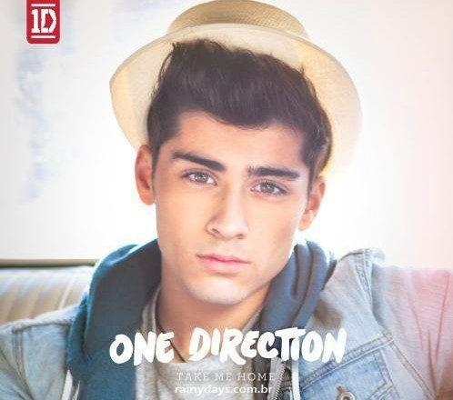 Capas Individuais de Take Me Home do One Direction 3