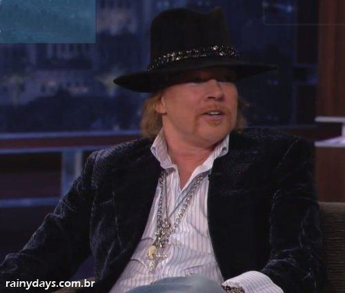 Entrevista do Axl Rose no Jimmy Kimmel