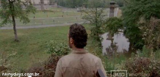 Walkind Dead Bastidores da 3ª Temporada
