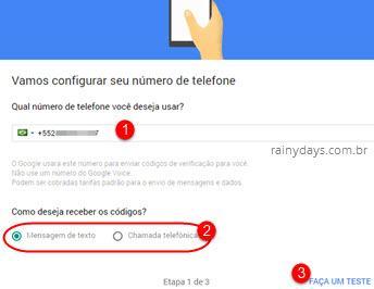 Ativar verificação em duas etapas no Google 4