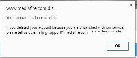 Como Cancelar Conta do MediaFire 4
