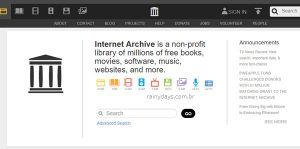 Download Legal de torrents no Internet Archive