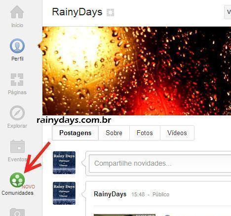 Como Criar Comunidade no Google Plus 1