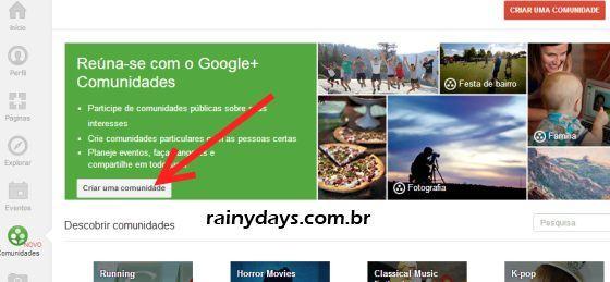 Como Criar Comunidade no Google Plus 2