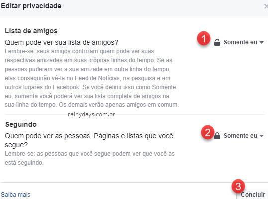 Como esconder amigos do Facebook mostrar apenas amigos em comum