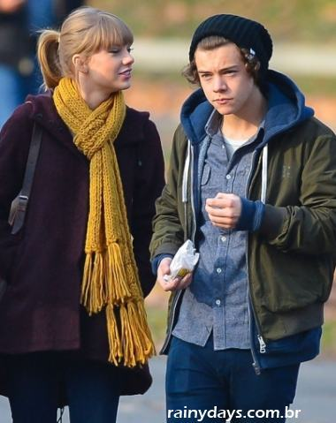 Harry Styles e Taylor Swift Namorando 1