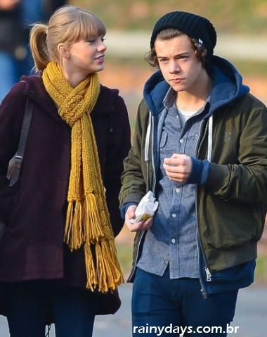 Harry Styles e Taylor Swift Namorando 1