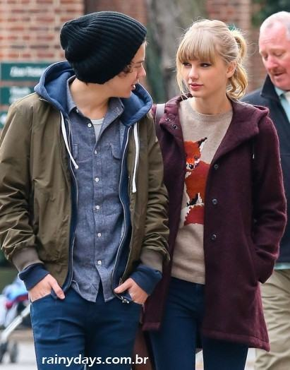 Harry Styles e Taylor Swift Namorando 2