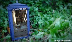 TARDIS do Dr. Who com Realidade Aumentada
