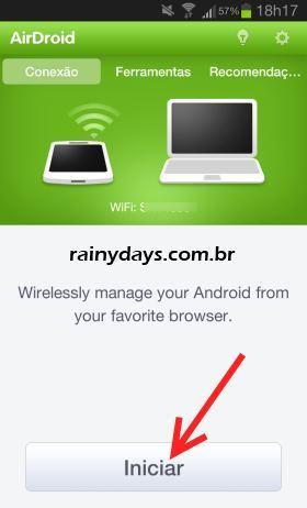 AirDroid para Gerenciar Android pelo Navegador 1