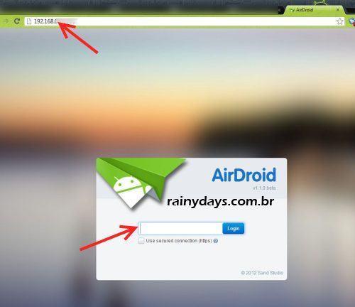 Airdroid Gerenciar Android pelo Navegador 3