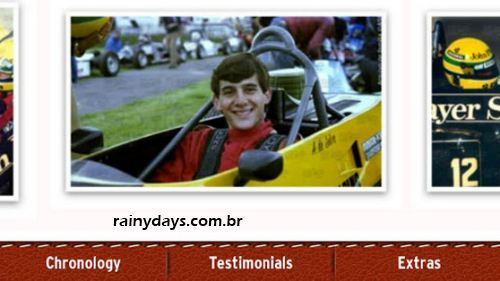 aplicaitvo do Senna para iPhone e Android