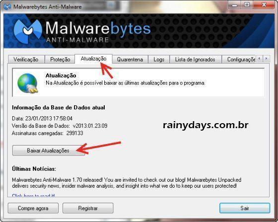 Malwarebytes para Remover Malware do Computador