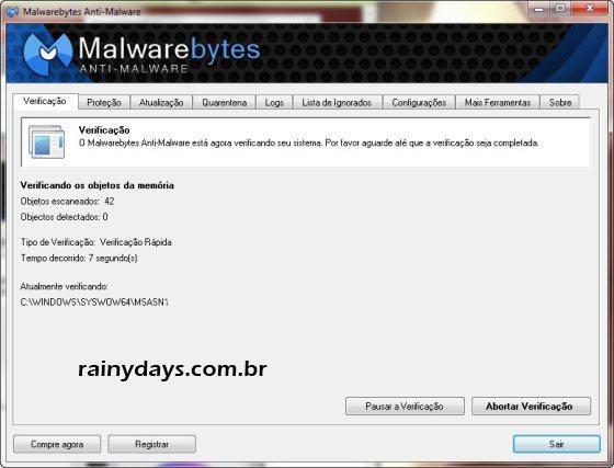 Malwarebytes para Remover Malware do Computador 3