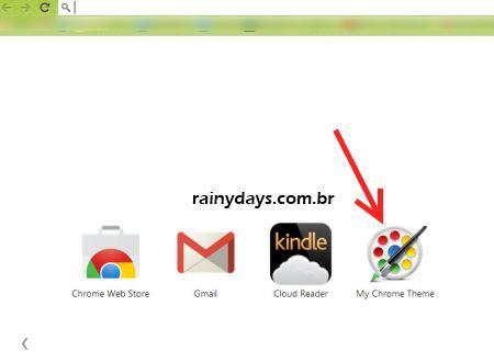 Como Criar Temas para o Google Chrome